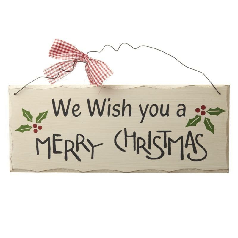 Christmas Signs & Plaques