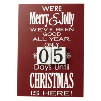 Christmas countdowns and advents