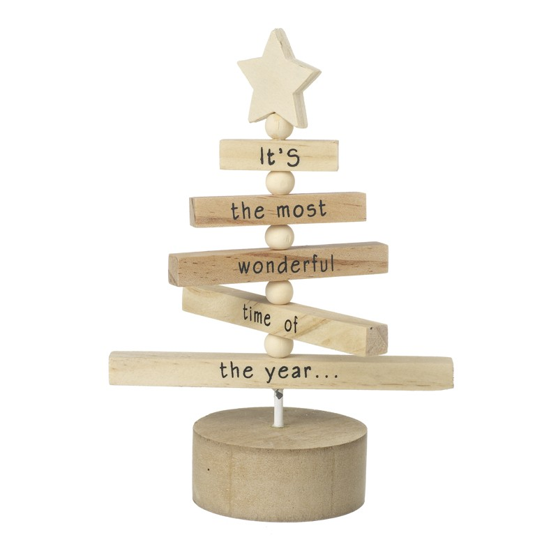 Wooden Christmas Decorations.Wooden Tree