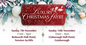 Logo for Christmas Fairs run by Your Main Event